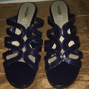 East 5th Navy Blue Sandals